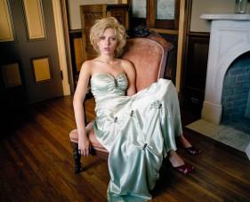 Actress Scarlett Johansson ca. 2004