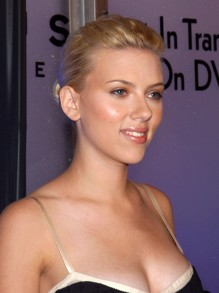 Scarlett Johansson signed as face for new Calvin Klein fragrance. (PRNewsFoto)